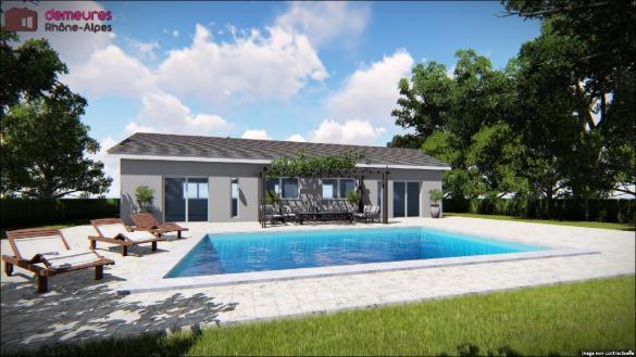 Maison à vendre .(110 m²)(NEUVILLE SUR AIN) avec (DEMEURES RHONE ALPES)