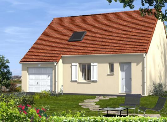 Maison à vendre .(85 m²)(SAINT MARTIN LE BEAU) avec (EURO-DAREL)