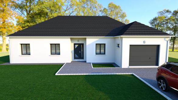 Maison à vendre .(103 m²)(GRON) avec (EURO-DAREL)