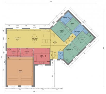 Maison+Terrain à vendre .(110 m²)(MARMAGNE) avec (MAISONS DONA)