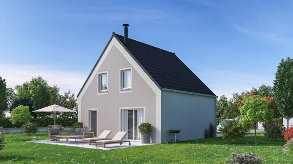 Maison+Terrain à vendre .(96 m²)(BOISSY FRESNOY) avec (MAISONS PHENIX)