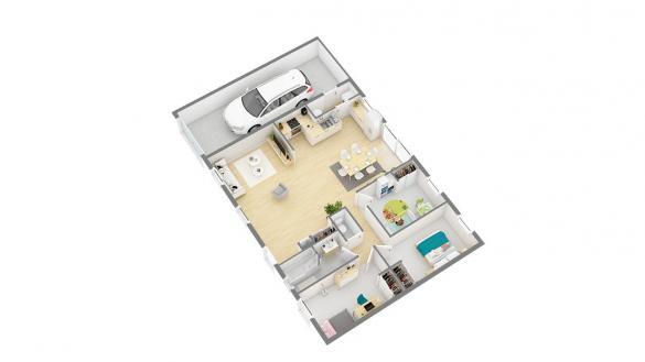 Maison+Terrain à vendre .(84 m²)(MOUY SUR SEINE) avec (MAISONS PHENIX)
