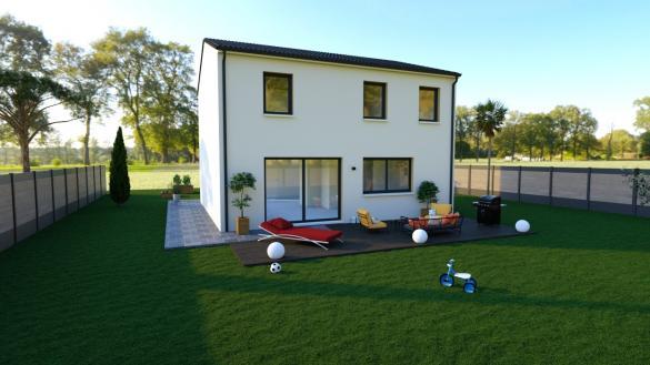 Maison+Terrain à vendre .(102 m²)(ETAMPES) avec (MAISONS PHENIX)