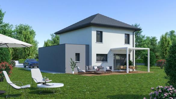 Maison+Terrain à vendre .(108 m²)(VERT LE PETIT) avec (MAISON FAMILIALE)