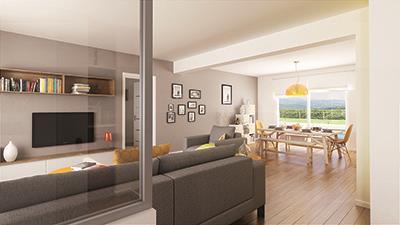 Maison+Terrain à vendre .(109 m²)(DARVAULT) avec (MAISON FAMILIALE)