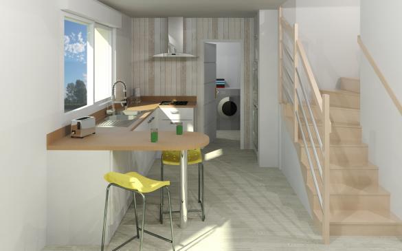 Maison+Terrain à vendre .(141 m²)(AYGUESVIVES) avec (Maison Familiale Toulouse)