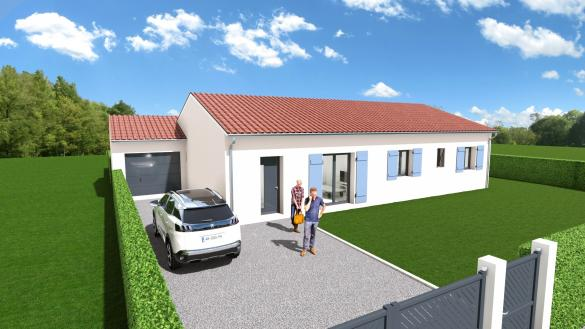 Maison+Terrain à vendre .(116 m²)(VERFEIL) avec (Maison Familiale Toulouse)
