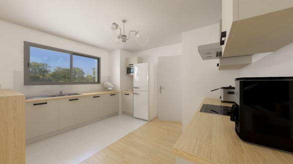 Maison+Terrain à vendre .(128 m²)(FOURQUEVAUX) avec (Maison Familiale Toulouse)
