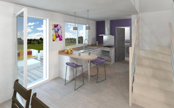 Maison+Terrain à vendre .(126 m²)(LAGARDELLE SUR LEZE) avec (Maison Familiale Toulouse)