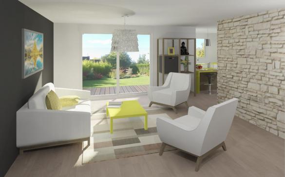 Maison+Terrain à vendre .(107 m²)(GEMIL) avec (Maison Familiale Toulouse)