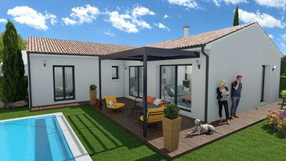 Maison+Terrain à vendre .(107 m²)(NOE) avec (Maison Familiale Toulouse)