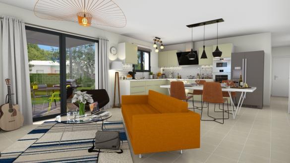 Maison+Terrain à vendre .(117 m²)(AUREVILLE) avec (Maison Familiale Toulouse)