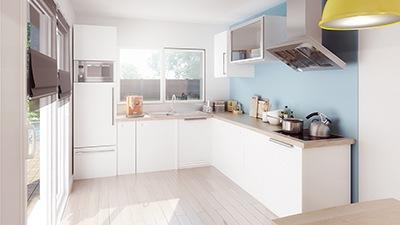 Maison+Terrain à vendre .(116 m²)(SAINTE FOY DE PEYROLIERES) avec (Maison Familiale Toulouse)