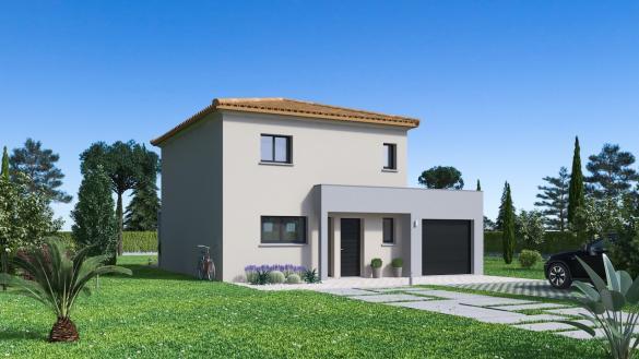Maison+Terrain à vendre .(108 m²)(SAINT HILAIRE) avec (Maison Familiale Toulouse)