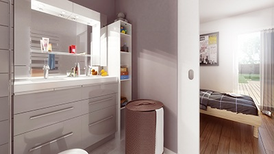 Maison+Terrain à vendre .(101 m²)(LANTA) avec (Maison Familiale Toulouse)