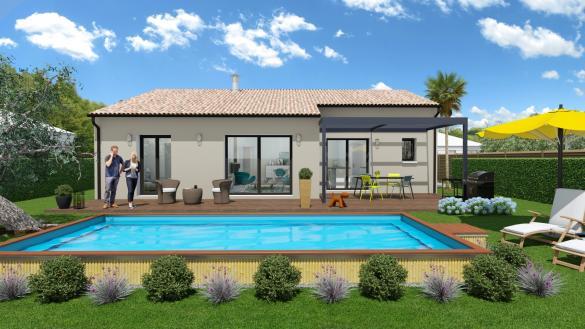 Maison+Terrain à vendre .(101 m²)(VILLEMUR SUR TARN) avec (Maison Familiale Toulouse)