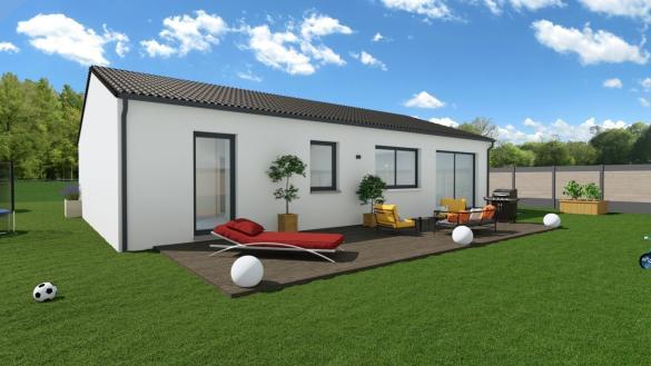 Maison+Terrain à vendre .(89 m²)(MARTRES TOLOSANE) avec (Maisons Phénix Toulouse)
