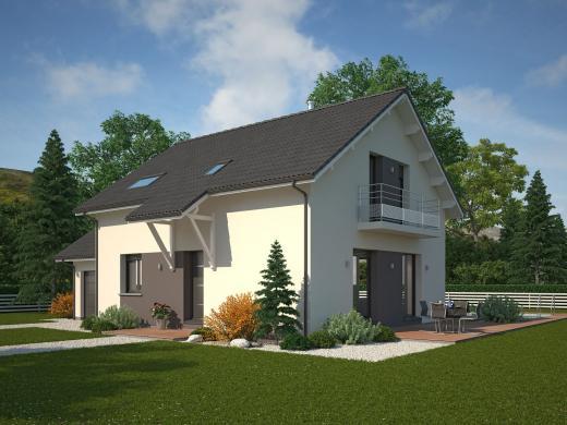 Maison+Terrain à vendre .(95 m²)(LES MOLLETTES) avec (MAISON FAMILIALE)