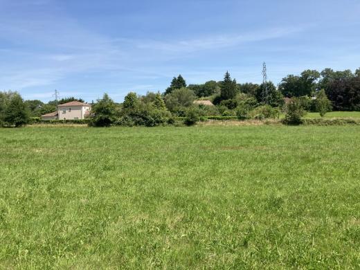 Terrain à vendre .(944 m²)(FEYTIAT) avec (LES MAISONS LIMOUSINES)