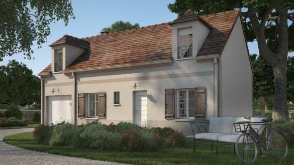 Maison+Terrain à vendre .(90 m²)(VALLANGOUJARD) avec (MAISONS FRANCE CONFORT)