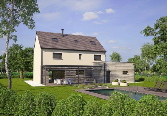 Maison+Terrain à vendre .(186 m²)(SURTAUVILLE) avec (MAISONS BALENCY)