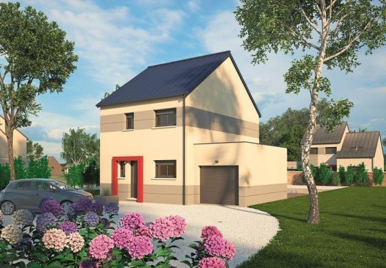 Maison+Terrain à vendre .(90 m²)(RADEPONT) avec (MAISONS BALENCY)
