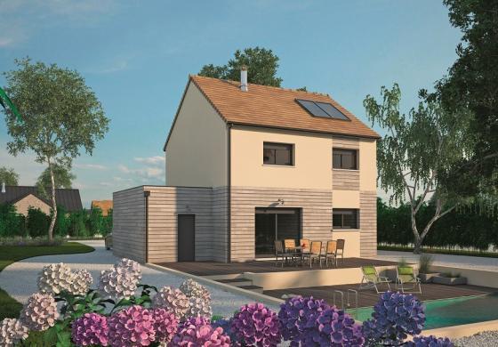 Maison+Terrain à vendre .(98 m²)(FLANCOURT CATELON) avec (MAISONS BALENCY)