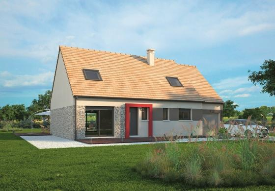 Maison+Terrain à vendre .(117 m²)(SURVILLE) avec (MAISONS BALENCY)