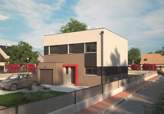 Maison+Terrain à vendre .(128 m²)(LE MESNIL ESNARD) avec (MAISONS BALENCY)