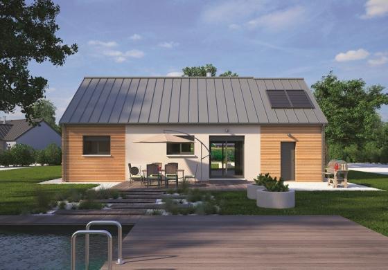 Maison+Terrain à vendre .(70 m²)(VALLIQUERVILLE) avec (MAISONS BALENCY)