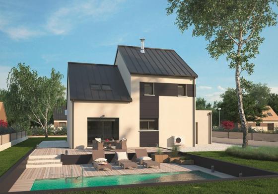 Maison+Terrain à vendre .(139 m²)(LE PLESSIS GROHAN) avec (MAISONS BALENCY)