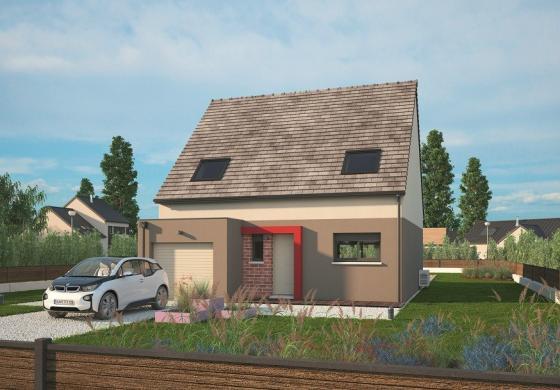 Maison+Terrain à vendre .(113 m²)(LA VACHERIE) avec (MAISONS BALENCY)