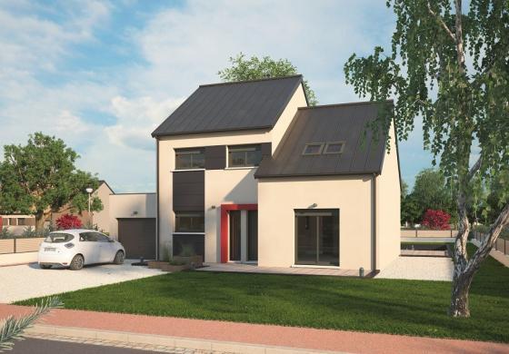 Maison+Terrain à vendre .(139 m²)(VILLEZ SOUS BAILLEUL) avec (MAISONS BALENCY)