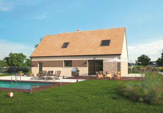 Maison+Terrain à vendre .(117 m²)(CUVERVILLE) avec (MAISONS BALENCY)