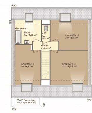 Maison+Terrain à vendre .(113 m²)(RY) avec (MAISONS BALENCY)