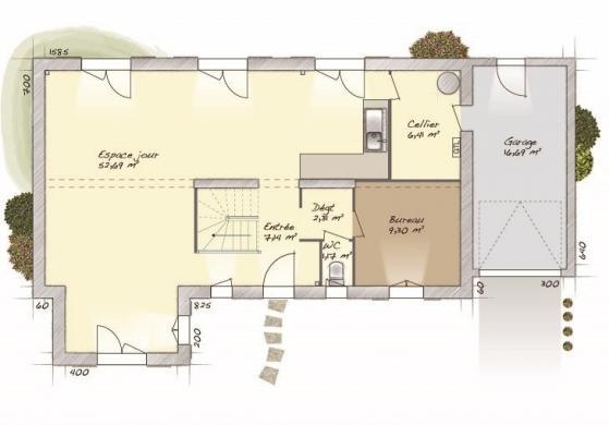 Maison+Terrain à vendre .(133 m²)(RADEPONT) avec (MAISONS BALENCY)