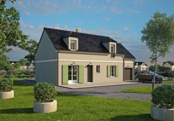 Maison+Terrain à vendre .(133 m²)(QUITTEBEUF) avec (MAISONS BALENCY)