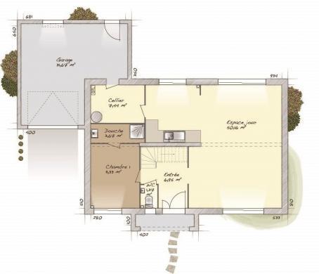 Maison+Terrain à vendre .(160 m²)(SURTAUVILLE) avec (MAISONS BALENCY)