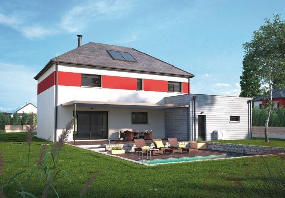 Maison+Terrain à vendre .(160 m²)(SAINTE COLOMBE LA COMMANDERIE) avec (MAISONS BALENCY)