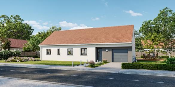 Maison+Terrain à vendre .(110 m²)(CUISERY) avec (MAISONS FRANCE CONFORT)