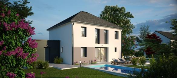 Maison+Terrain à vendre .(137 m²)(NOYERS SAINT MARTIN) avec (MAISONS PHENIX)