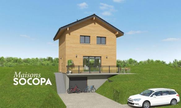 Maison à vendre .(100 m²)(SEYSSEL) avec (SOCOPA)