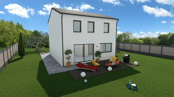 Maison+Terrain à vendre .(102 m²)(LES PENNES MIRABEAU) avec (MAISONS PHENIX)