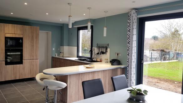 Maison+Terrain à vendre .(122 m²)(SAINT SENIER SOUS AVRANCHES) avec (Maisons Phénix Caen)
