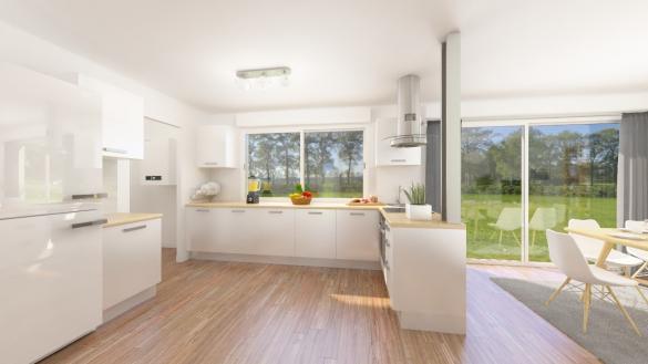 Maison+Terrain à vendre .(111 m²)(SAINT MANVIEU NORREY) avec (Maisons Phénix Caen)