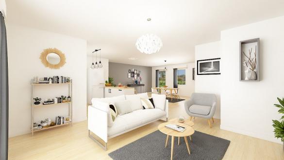 Maison+Terrain à vendre .(104 m²)(AMAYE SUR ORNE) avec (Maisons Phénix Caen)