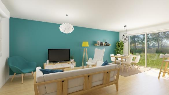 Maison+Terrain à vendre .(93 m²)(WINGLES) avec (HABITAT CONCEPT BEAURAINS)