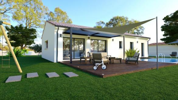 Maison+Terrain à vendre .(121 m²)(L'ISLE JOURDAIN) avec (LCO CONCEPT AGENCE DE SAINT SULPICE)