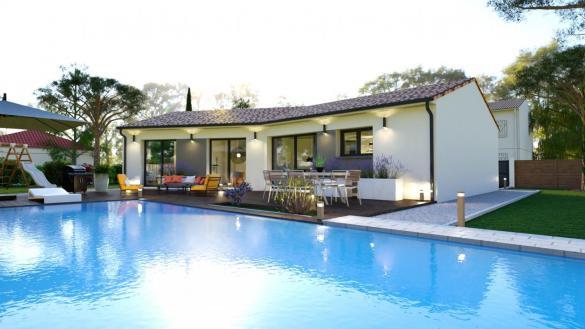 Maison+Terrain à vendre .(96 m²)(LA MAGDELAINE SUR TARN) avec (LCO CONCEPT)