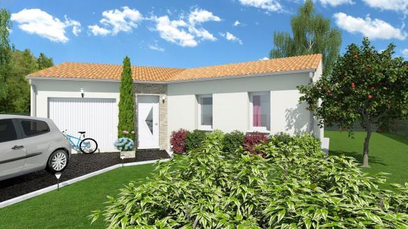 Maison+Terrain à vendre .(87 m²)(MONTASTRUC LA CONSEILLERE) avec (LCO CONCEPT)